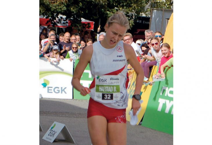 IMPONERTE: Victoria Hæstad Bjørnstad var svært nær en finaleplass, men endte på en sterk 7. plass på knockout sprinten i Sveits.