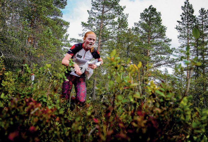 GULLØP: Jenny Baklid stempler på siste og tar NM-gull. Foto: Jens O. Kløvrud