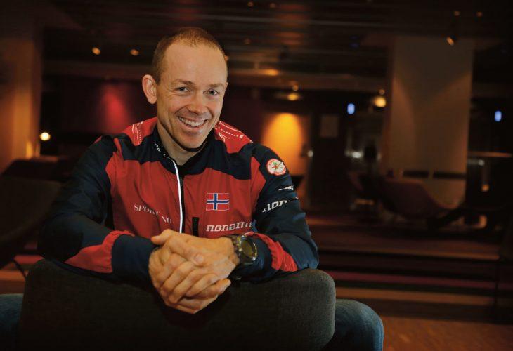 GIR SEG: - Når jeg mangler litt på motivasjonen, er det best å gi seg mens det er gøy, sier Jørgen Rostrup. FOTO: JENS O. KLØVRUD