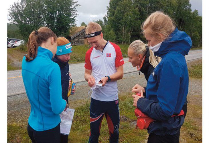 ØSTERDALEN: Håvard Haga er ny, sportslig utviklingsansvarlig i NOF og ledet juniorsamlingen under corona-tiden i Østerdalen i sommer. FOTO: FANNY HORN BIRKELAND