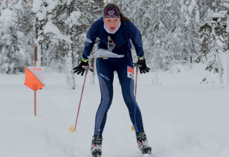 SPRINTET BESTE: Audun Heimdal tok sitt tredje individuelle NM-gull i skiorientering da han vant sprinten på Lygna.