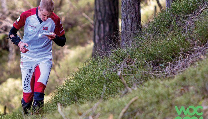 Mester Olav løper for medalje