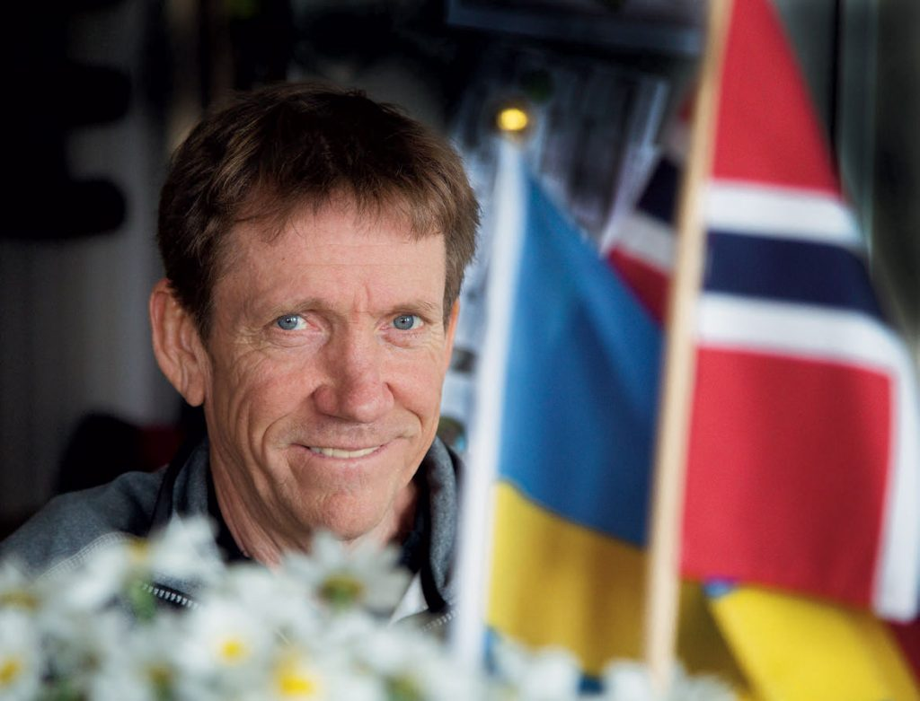 SVENSK OG NORSK: Sveriges O-legende, Jörgen Mårtensson, har dobbelt statsborgerskap. Nå er 61-åringen engasjert av NOF. Det det internasjonale o-forbundet, IOF, har aldri har gitt ham en reel anerkjennelse for jobben han har gjort som o-misjonær - eller tatt han med på sitt lag. FOTO: JENS O. KLØVRUD