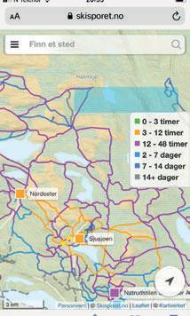 SKISPORET: I 2005 var Bernt sterkt delaktig i skapelsen av skisporet.no.