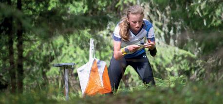NYE OPPGAVER: Ingeborg Roll Mosland fra Oppsal IF vant D15 under langdistansen på Gjelleråsen. Nå får hun prøve seg i trønderterreng. FOTO: JENS O KLØVRUD