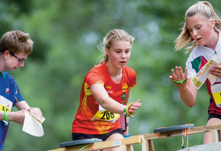 HØYDEPUNKT: Østmarka OK sto forfjorårets Hovedløp. I år går ungdommens høydepunkt i Levanger med Frol som arrangør. FOTO: JENS O KLØVRUD