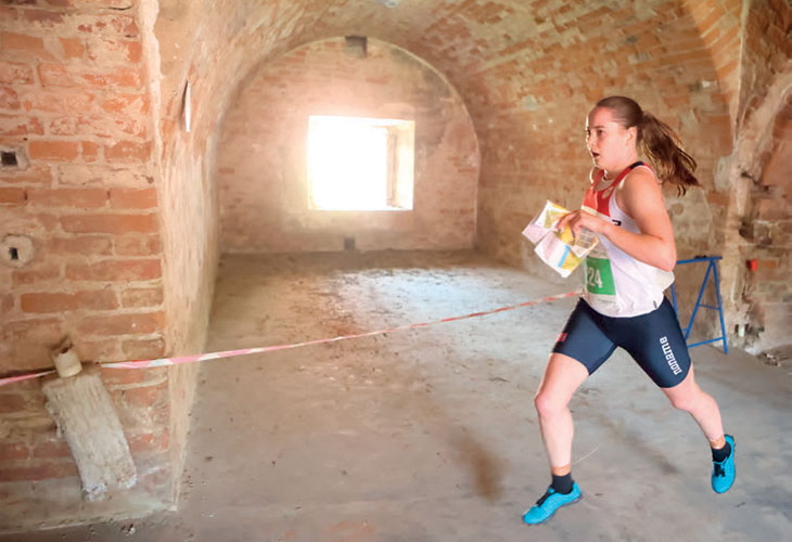 SPRINTFOKUS: Ingrid Lundanes fikk sin VM-debut og vil fokusere på sprint også framover. FOTO: WOC2021
