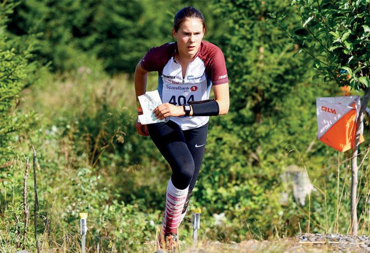 UBESEIRET: Etter fire konkurranser i Hovedløpet er Eira Skaarer Wiklund ubeseiret. I Levanger var hun nok en gang suveren i D15. FOTO: PER IVAR SKINDERHAUG