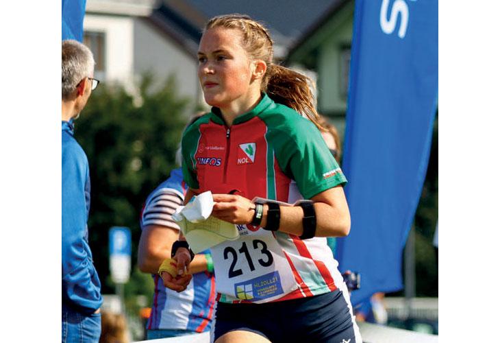 DOBBELT GULLVINNER: Synne Sandven vant både sprinten og langdistansen i Levanger. På seks forsøk står Notodden-jenta med fem gull i Hovedløpet. FOTO: PER IVAR SKINDERHAUG