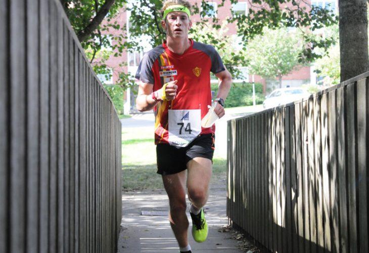 SUVEREN: Iver Dalsaune Thun tok en suveren seier på den individuelle sprinten i H17-18.