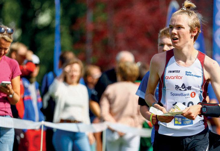 MEDALJEGROSSIST: Med gull både på sprinten og langdistansen i Levanger, står Nils Anders Niklasson med seks medaljer på like mange forsøk i Hovedløpet. FOTO: PER IVAR SKINDERHAUG